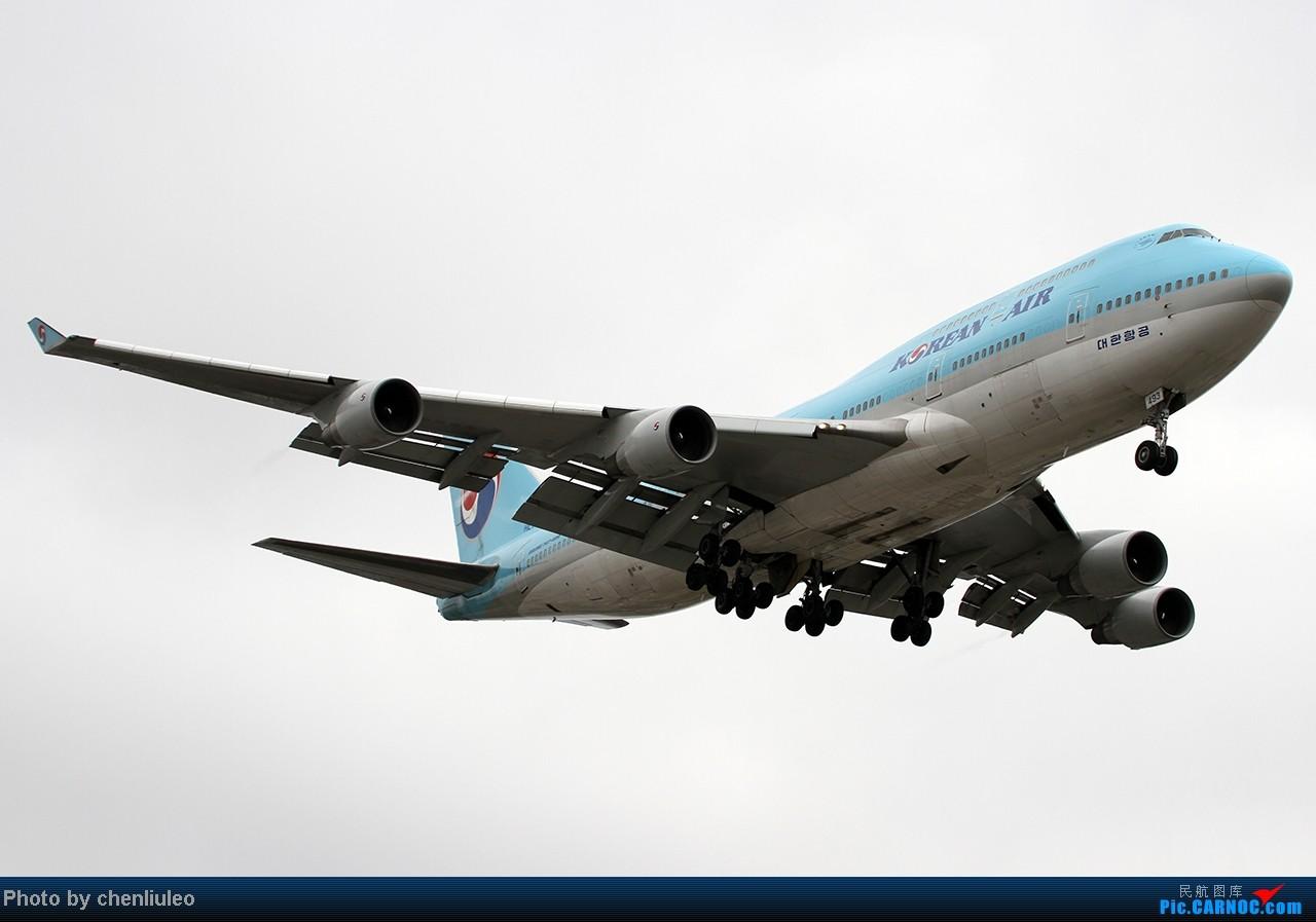 Re:[原创]【杭州飞友会】LAX拍机。阴天。傍晚。逆光。亮点不多。 BOEING 747-4B5 HL7493 美国洛杉矶机场