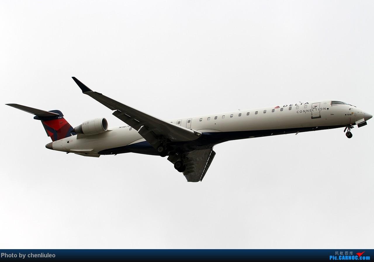 Re:[原创]【杭州飞友会】LAX拍机。阴天。傍晚。逆光。亮点不多。 BOMBARDIER (CANADAIR) CRJ-900 N187PQ 美国洛杉矶机场