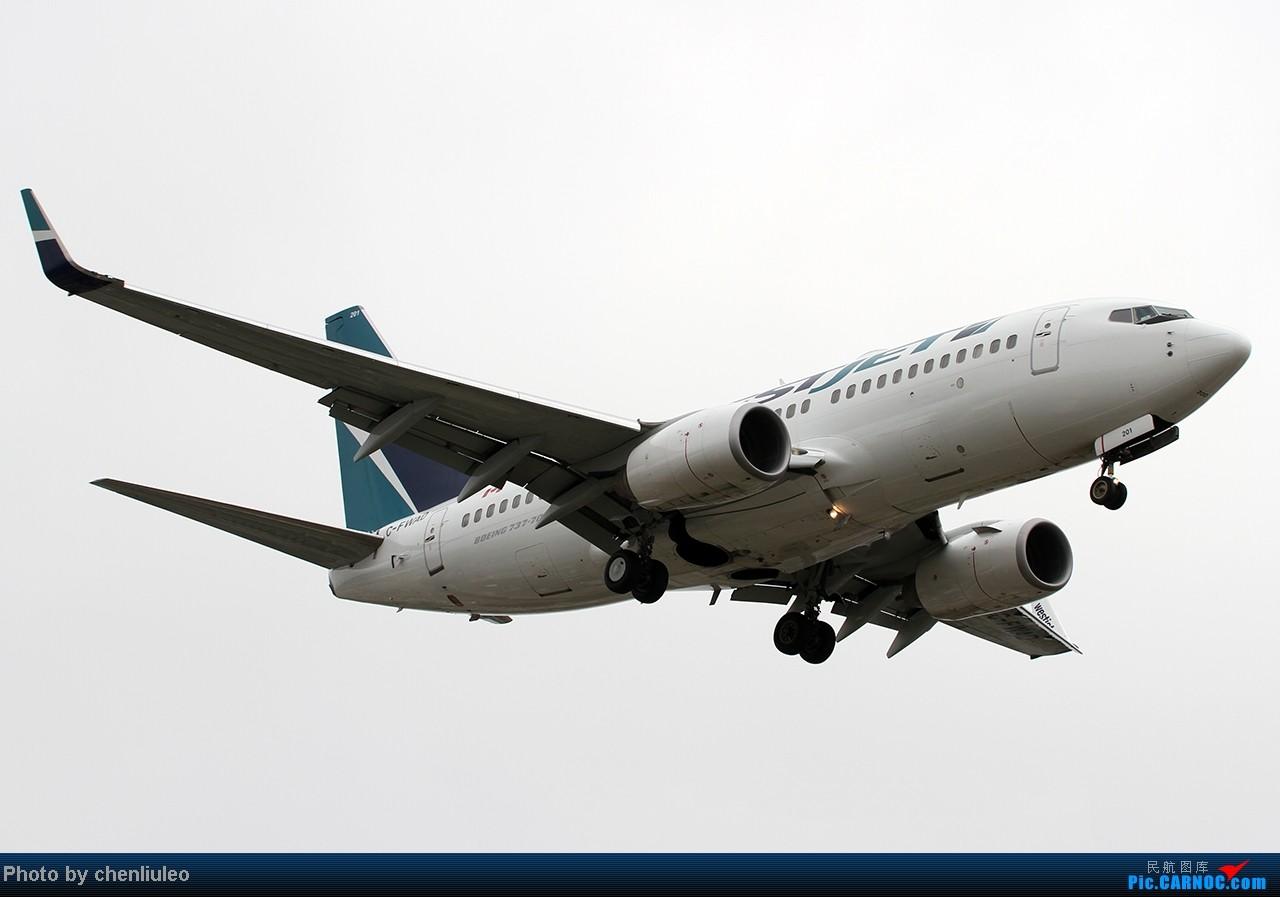 Re:[原创]【杭州飞友会】LAX拍机。阴天。傍晚。逆光。亮点不多。 BOEING 737-7CT C-FWAD 美国洛杉矶机场