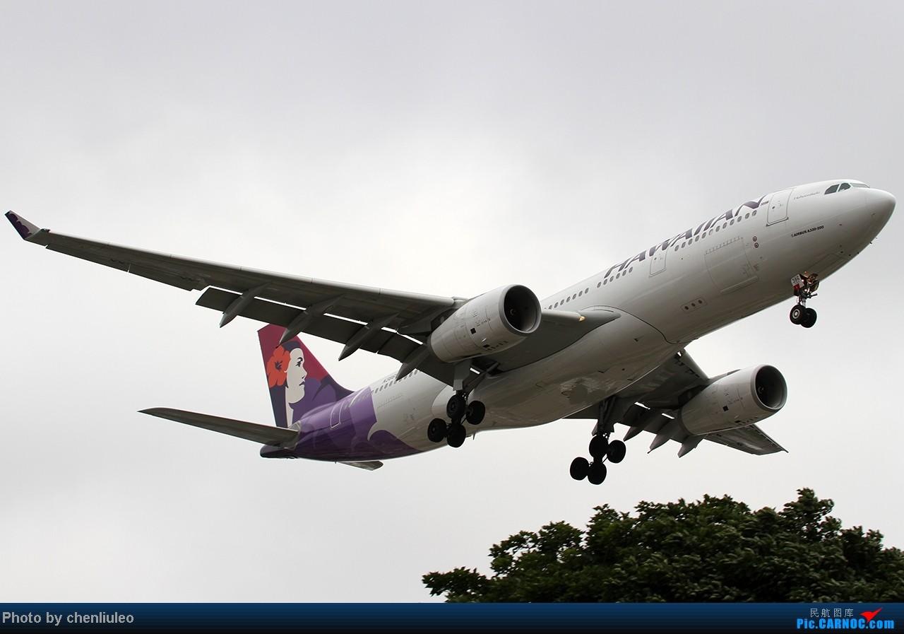 Re:[原创]【杭州飞友会】LAX拍机。阴天。傍晚。逆光。亮点不多。 AIRBUS A330-243 N386HA 美国洛杉矶机场