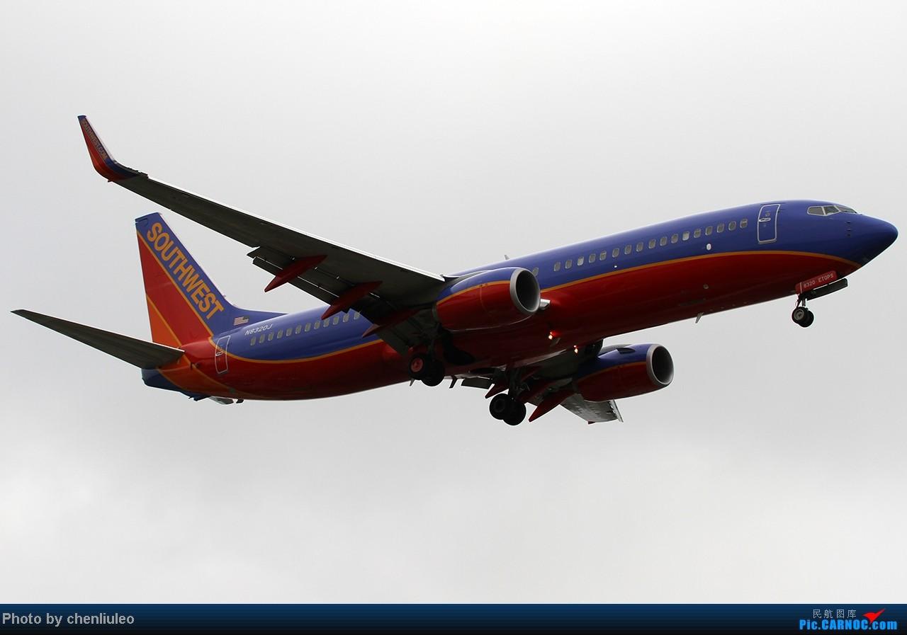 Re:[原创]【杭州飞友会】LAX拍机。阴天。傍晚。逆光。亮点不多。 BOEING 737-800 N3820J 美国洛杉矶机场