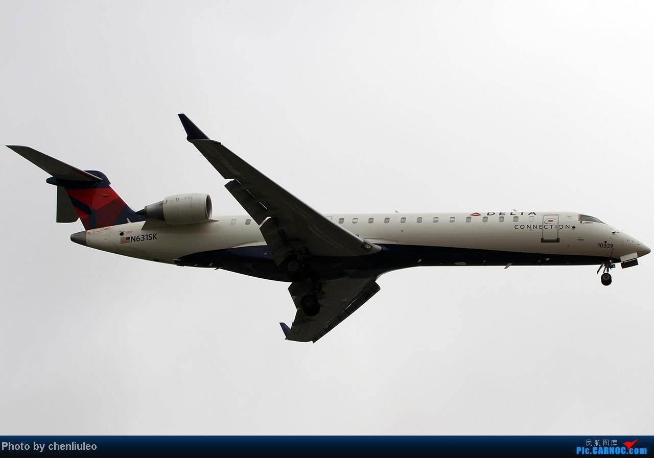 Re:[原创]【杭州飞友会】LAX拍机。阴天。傍晚。逆光。亮点不多。 BOMBARDIER (CANADAIR) CRJ-702 N631SK 美国洛杉矶机场