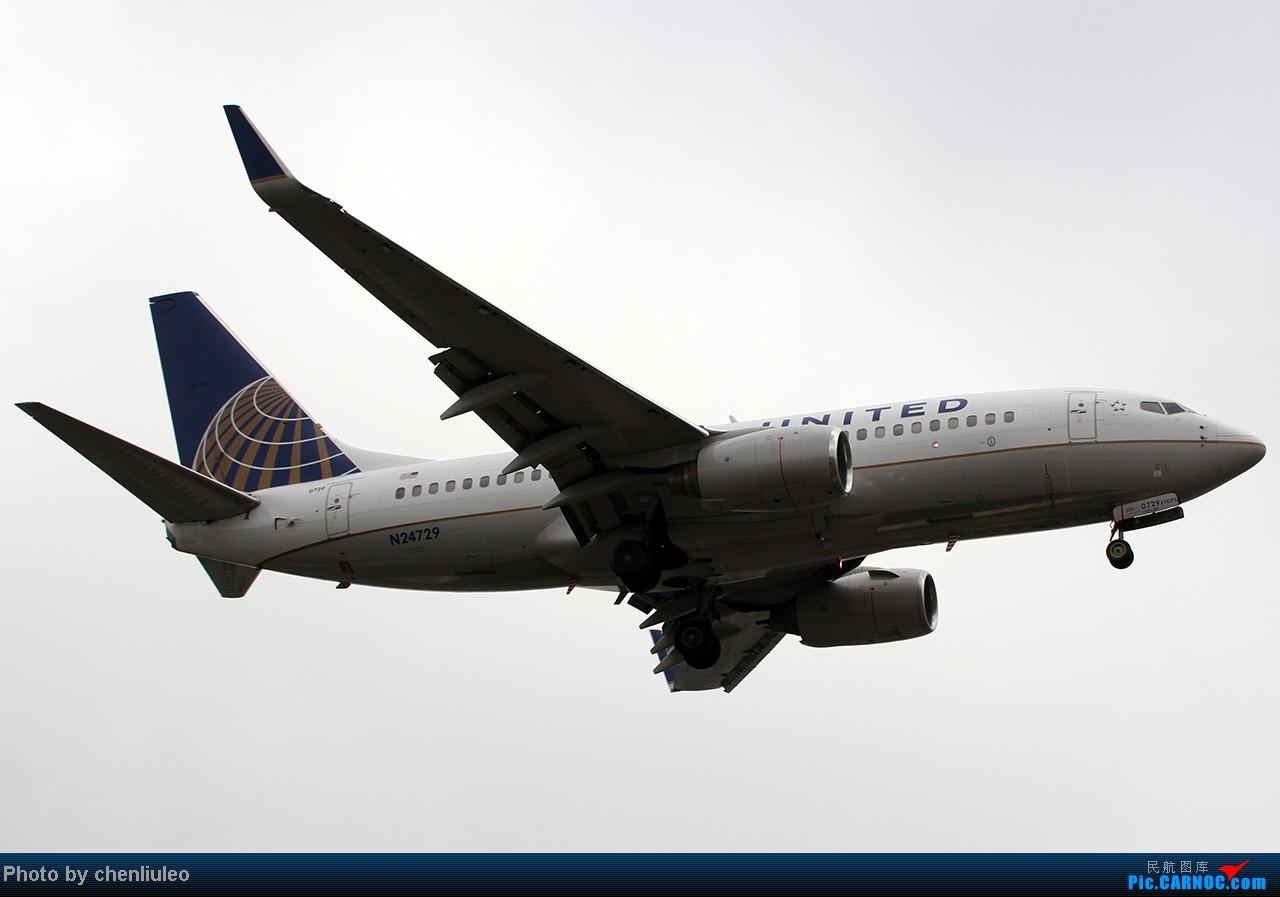 Re:[原创]【杭州飞友会】LAX拍机。阴天。傍晚。逆光。亮点不多。 BOEING 737-724 N24729 美国洛杉矶机场