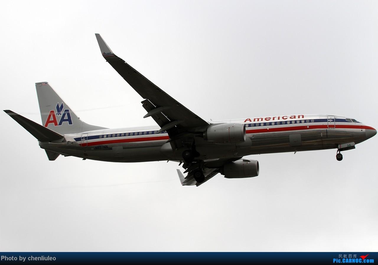 Re:[原创]【杭州飞友会】LAX拍机。阴天。傍晚。逆光。亮点不多。 BOEING 737-823 N897NN 美国洛杉矶机场