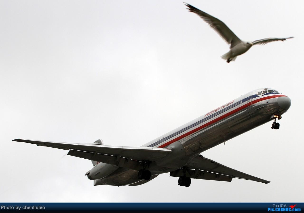 Re:[原创]【杭州飞友会】LAX拍机。阴天。傍晚。逆光。亮点不多。 MCDONNELL DOUGLAS MD-80-83 N978TW 美国洛杉矶机场