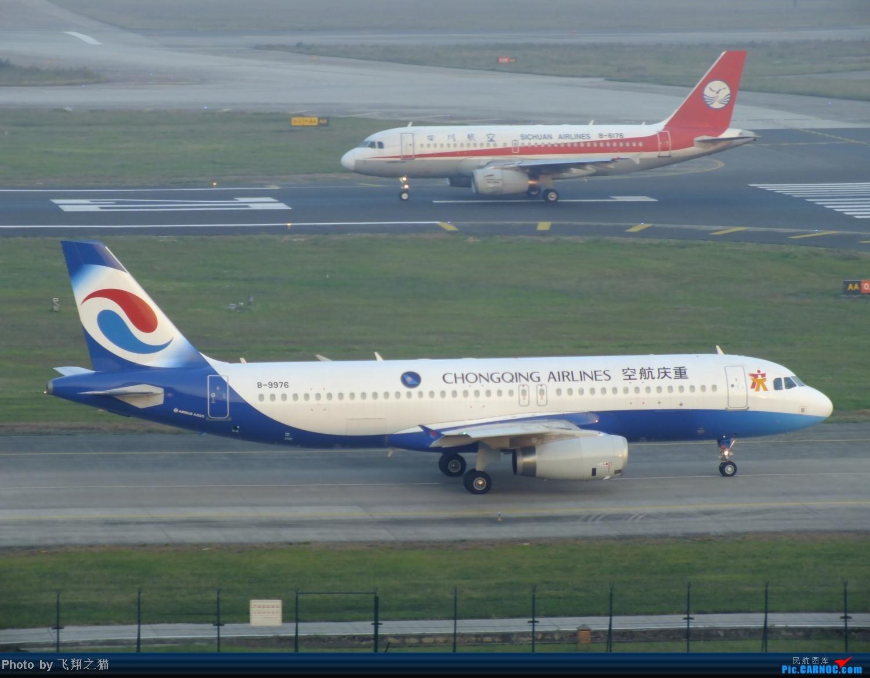 Re:[原创]我在CKG拍到的9字头新机,清一色的空客系列。 AIRBUS A320-200 B-9976 重庆江北国际机场