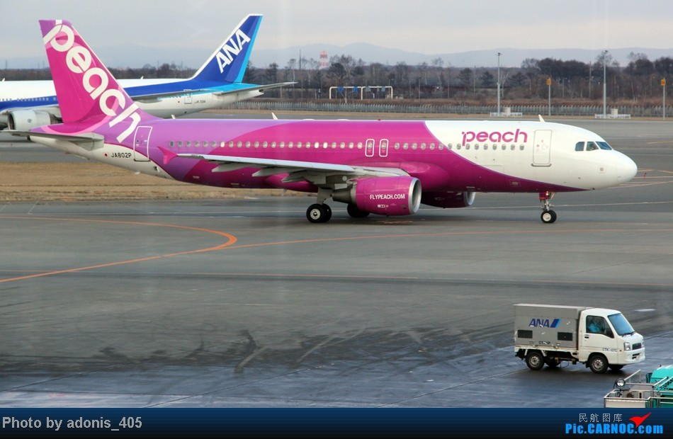 Re:[原创]北海道新千岁机场 A320 JA802P 新千岁机场