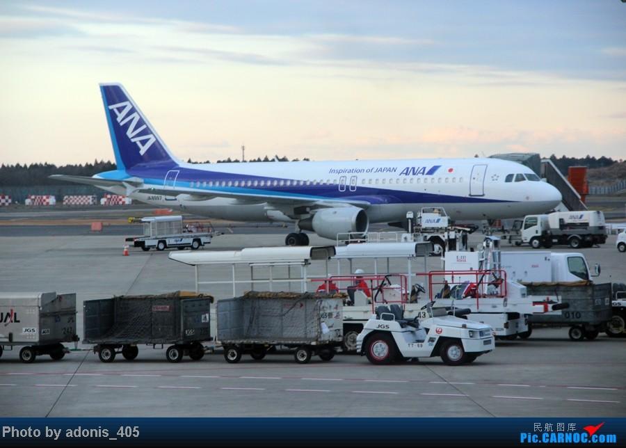 Re:[原创]北海道新千岁--东京成田机场 A320 JA8997 东京成田机场