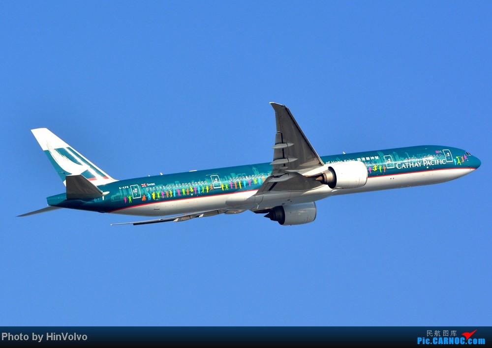 Re:[原创]Re:[原创]~~~~多圖系列~~~~雨後兩天在港龍橋拍機,內有新香港精神號和送兩張維修區07R降落角度! BOEING 777-300 B-KPB 中国香港赤鱲角机场