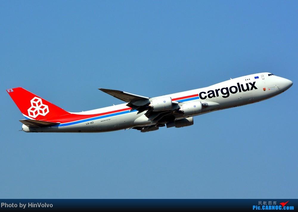 Re:[原创]Re:[原创]~~~~多圖系列~~~~雨後兩天在港龍橋拍機,內有新香港精神號和送兩張維修區07R降落角度! BOEING 747-8F LX-VCI 中国香港赤鱲角机场
