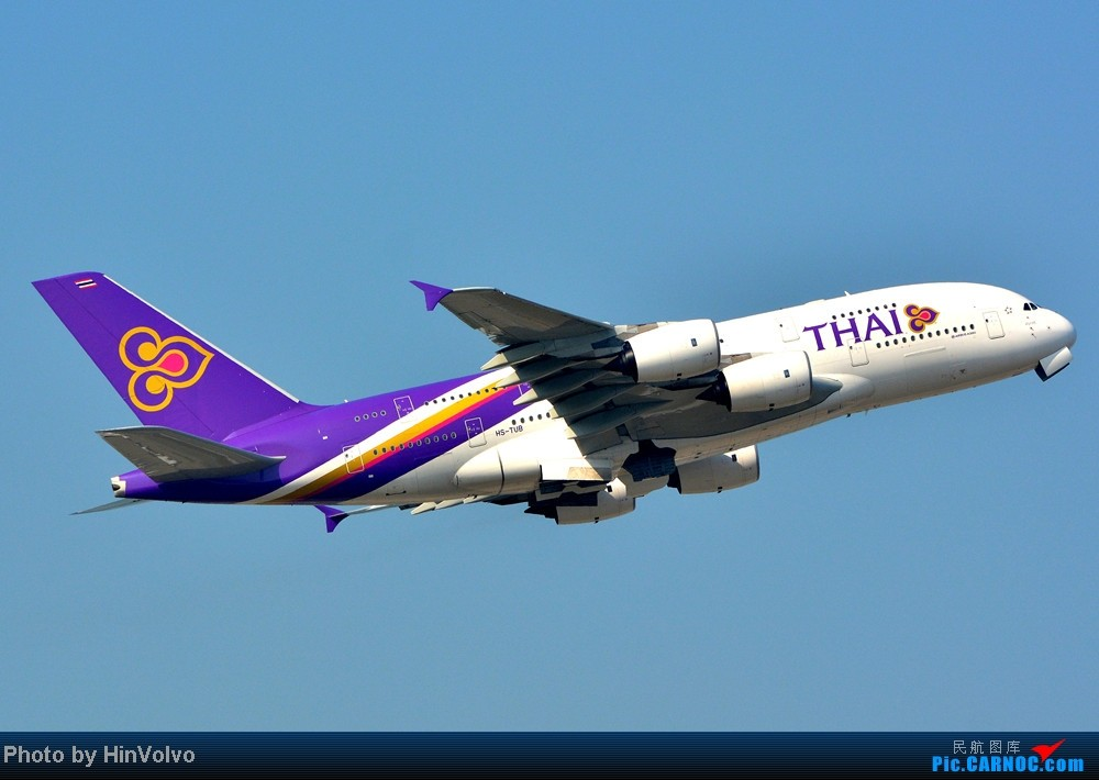 Re:[原创]Re:[原创]~~~~多圖系列~~~~雨後兩天在港龍橋拍機,內有新香港精神號和送兩張維修區07R降落角度! AIRBUS A380-800 HS-TUB 中国香港赤鱲角机场