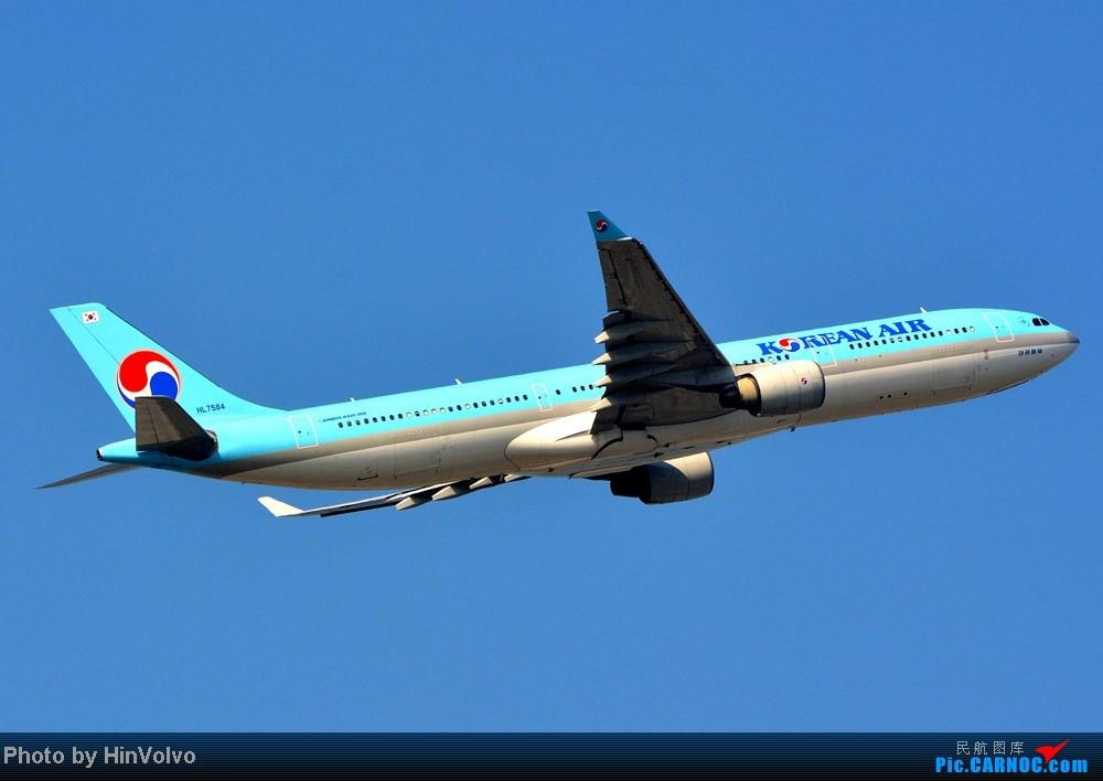 Re:[原创]Re:[原创]~~~~多圖系列~~~~雨後兩天在港龍橋拍機,內有新香港精神號和送兩張維修區07R降落角度! AIRBUS A330-300 HL7584 中国香港赤鱲角机场