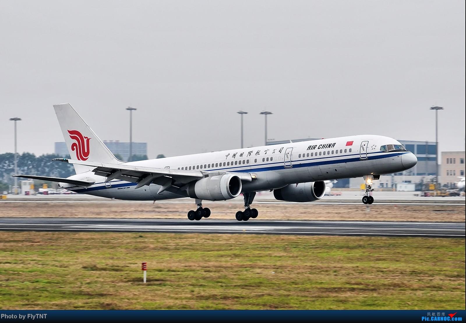 [原创]中国国际航空公司最后一架757执行完CA