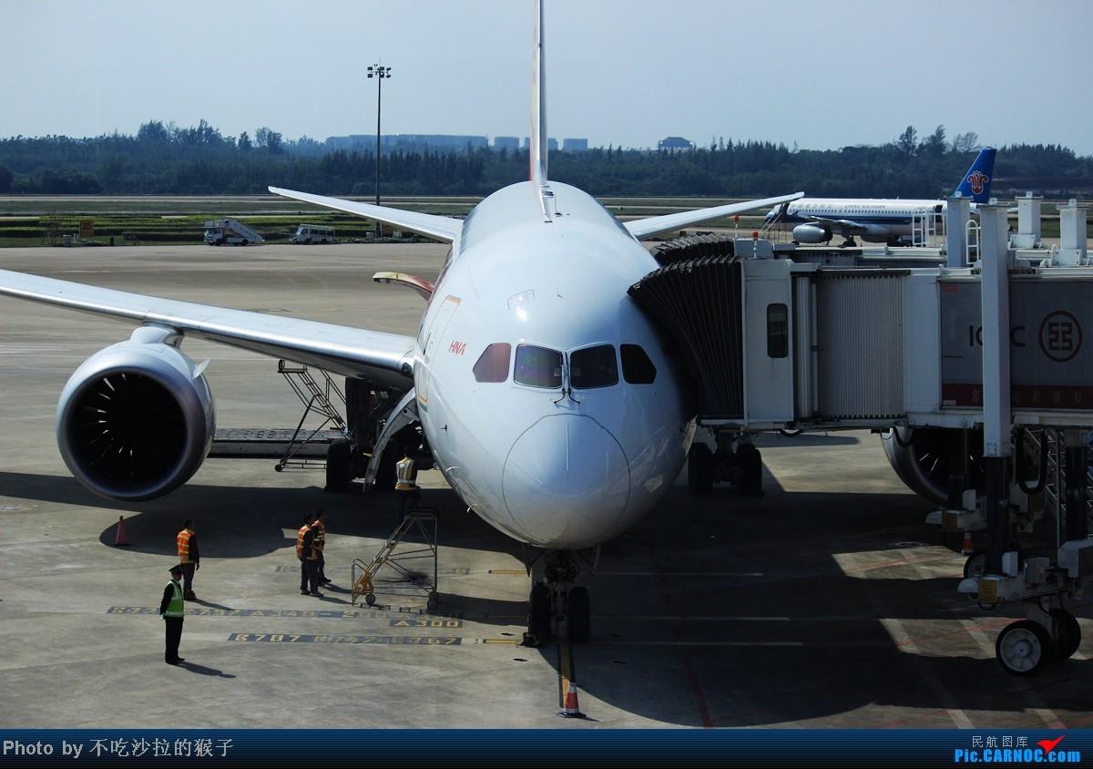 Re:[原创]【海南飞友会】【猴子出品】99元票价的匆匆旅程.坐到烂的JD5515/6.满月的新机带我往返 BOEING 787 B-2723 中国海口美兰机场