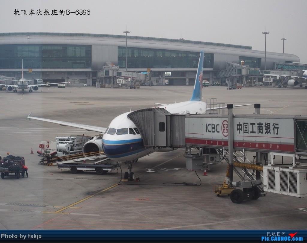 【fskjx的飞行游记】带上亲人去旅行,4天游吉隆坡马六甲 AIRBUS A320-200 B-6896 中国广州白云机场