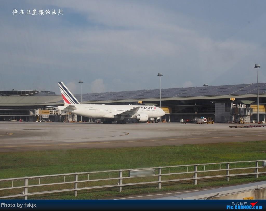 【fskjx的飞行游记】带上亲人去旅行,4天游吉隆坡马六甲 BOEING 777-200 F-GSPY 马来西亚吉隆坡机场
