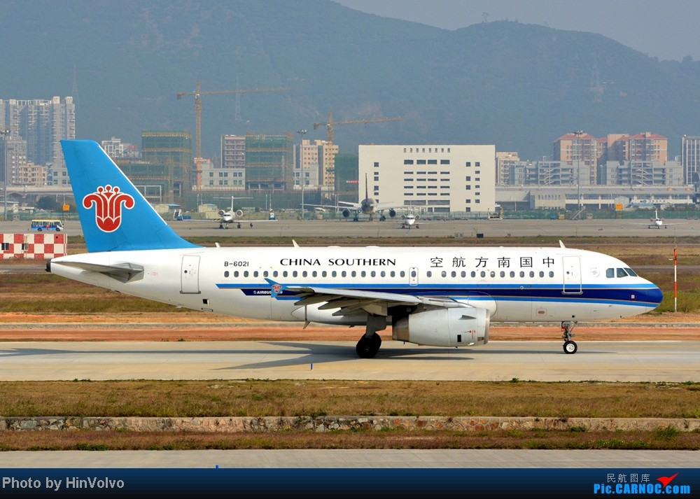 Re:[原创]Re:[原创]~~~~多圖系列~~~~今年最後一次拍機。 AIRBUS A319-100 B-6021 中国深圳宝安机场