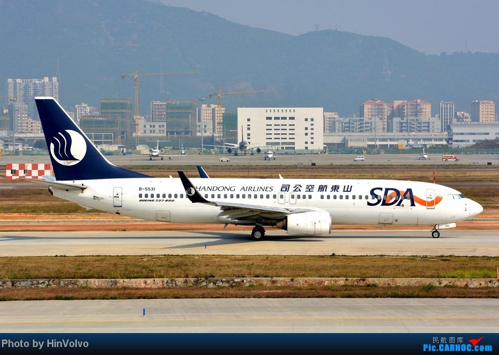 Re:[原创]Re:[原创]~~~~多圖系列~~~~今年最後一次拍機。 BOEING 737-800 B-5531 中国深圳宝安机场