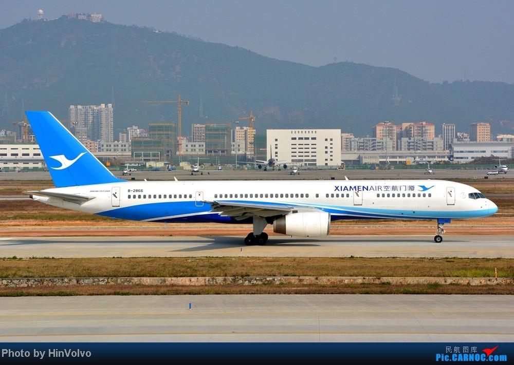 Re:[原创]Re:[原创]~~~~多圖系列~~~~今年最後一次拍機。 BOEING 757-200 B-2866 中国深圳宝安机场