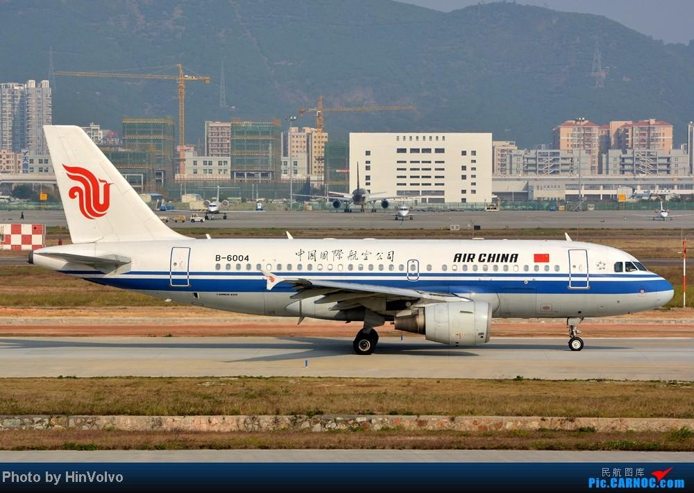 Re:[原创]Re:[原创]~~~~多圖系列~~~~今年最後一次拍機。 AIRBUS A319-100 B-6004 中国深圳宝安机场