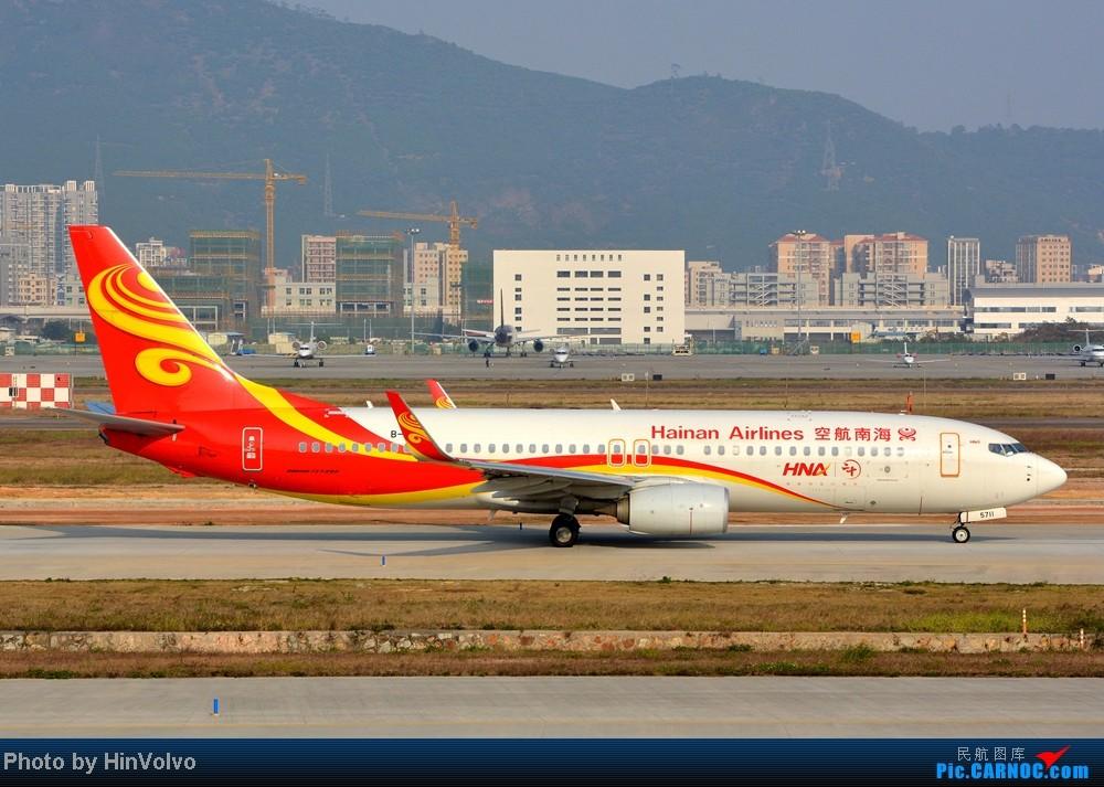 Re:[原创]Re:[原创]~~~~多圖系列~~~~今年最後一次拍機。 BOEING 737-800 B-5711 中国深圳宝安机场