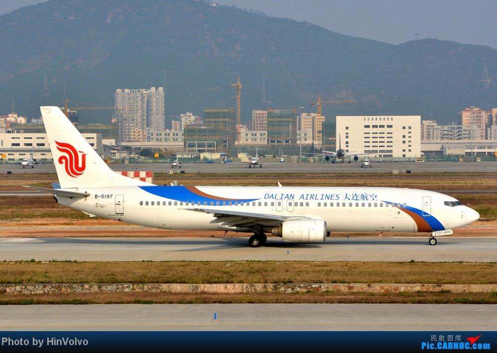 Re:[原创]Re:[原创]~~~~多圖系列~~~~今年最後一次拍機。 BOEING 737-800 B-5197 中国深圳宝安机场