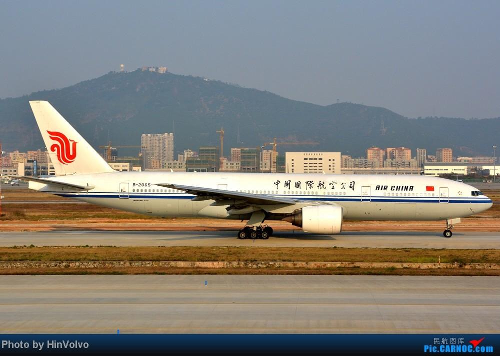 Re:[原创]Re:[原创]~~~~多圖系列~~~~今年最後一次拍機。 BOEING 777-200 B-2065 中国深圳宝安机场