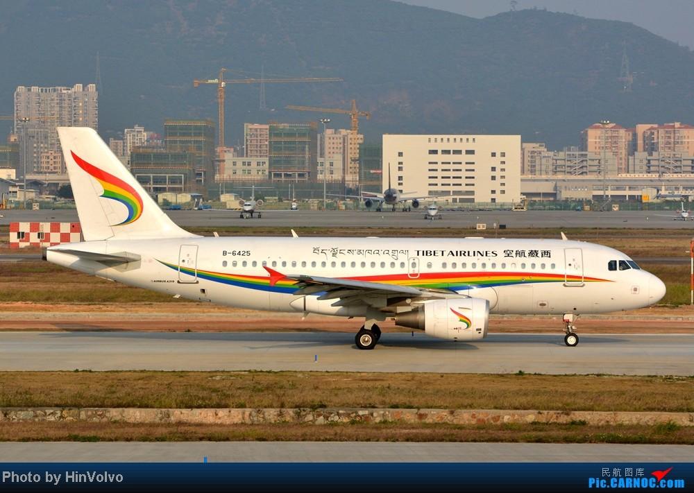 Re:[原创]Re:[原创]~~~~多圖系列~~~~今年最後一次拍機。 AIRBUS A319-100 B-6425 中国深圳宝安机场