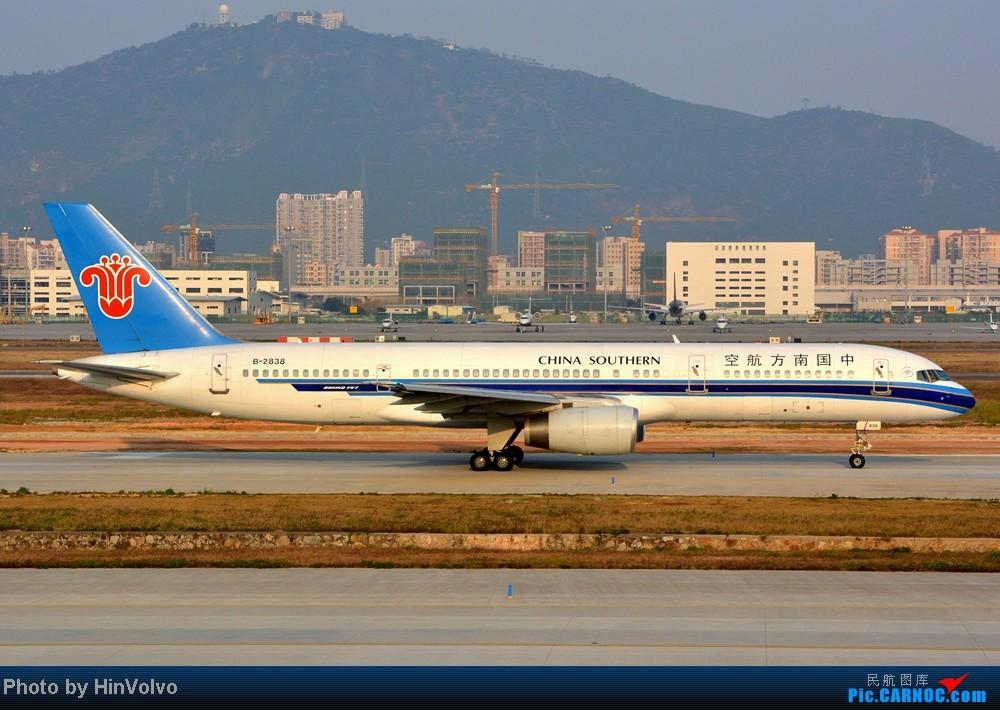 Re:[原创]Re:[原创]~~~~多圖系列~~~~今年最後一次拍機。 BOEING 757-200 B-2858 中国深圳宝安机场
