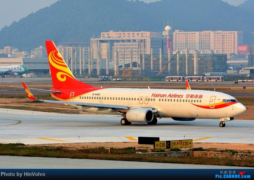 Re:[原创]Re:[原创]~~~~多圖系列~~~~今年最後一次拍機。 BOEING 737-800 B-5483 中国深圳宝安机场