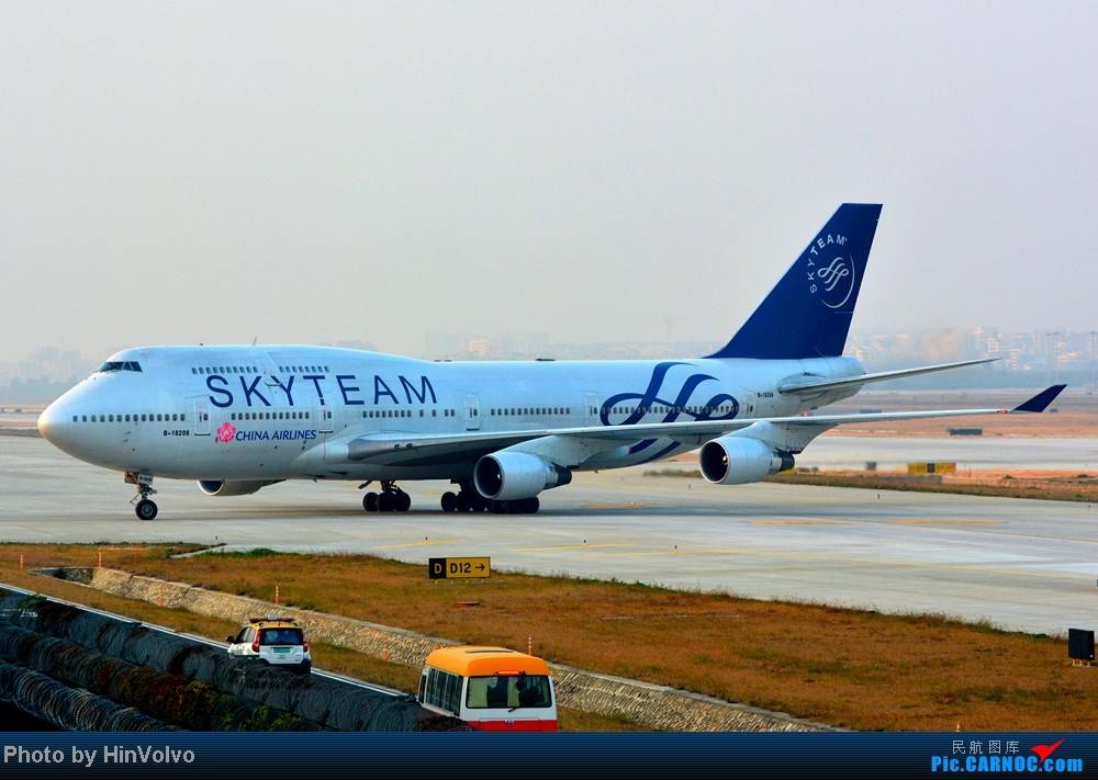 Re:[原创]Re:[原创]~~~~多圖系列~~~~今年最後一次拍機。 BOEING 747-400 B-18206 中国深圳宝安机场