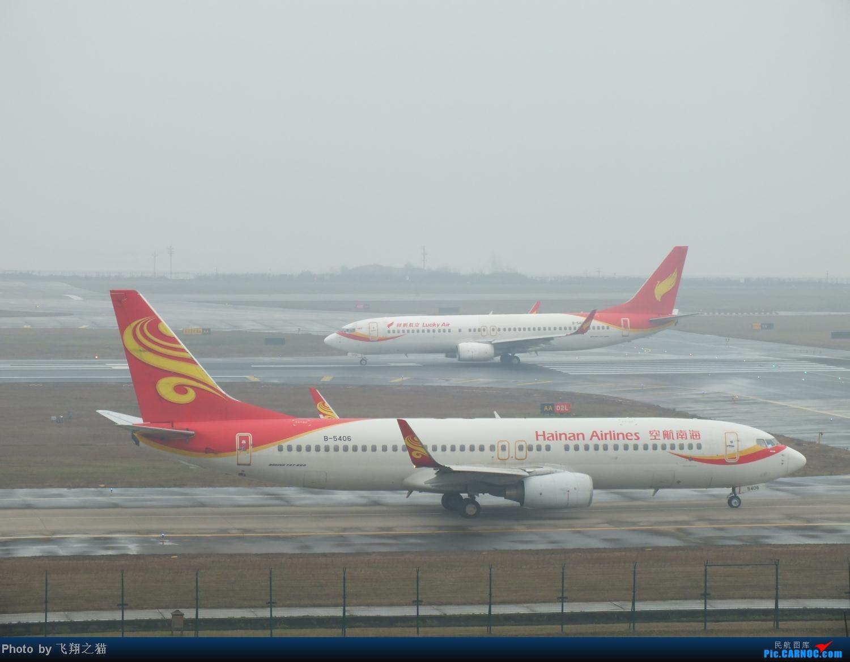 Re:[原创]这真的是2013最后一拍了(CKG年末压轴大戏浙江长龙航空首航重庆) BOEING 737-800 B-5406 重庆江北国际机场