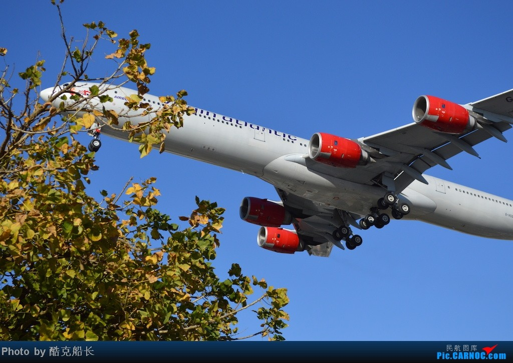 Re:[原创][飞吧飞吧飞] 年末LAX拍机 一堆一堆的小风扇区域航班 有时候禁不住就要卖弄文艺 拍累了咱就找点吃的 新年快乐 NO.006 AIRBUS A340-600 G-VSSH LAX