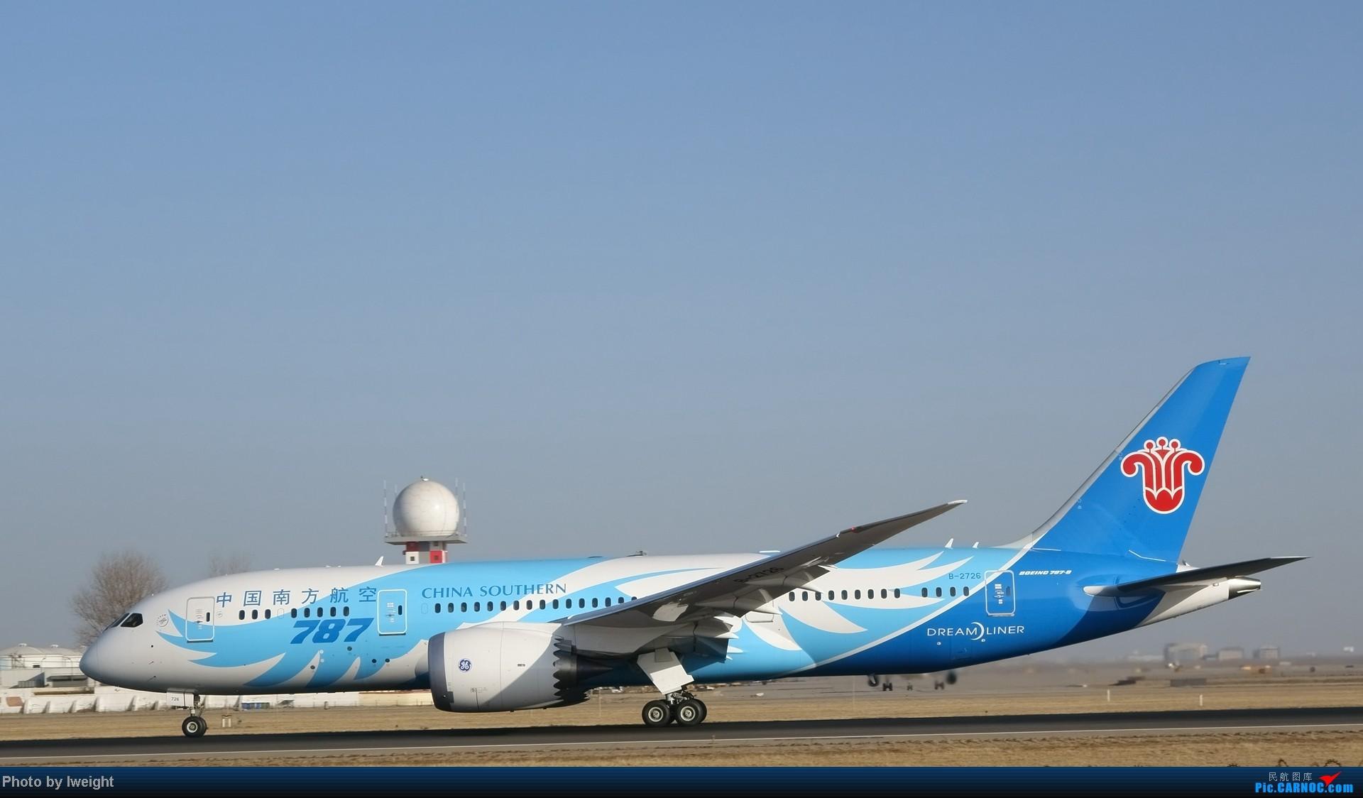 Re:[原创]2014的第一天 BOEING 787 B-2726 中国北京首都机场