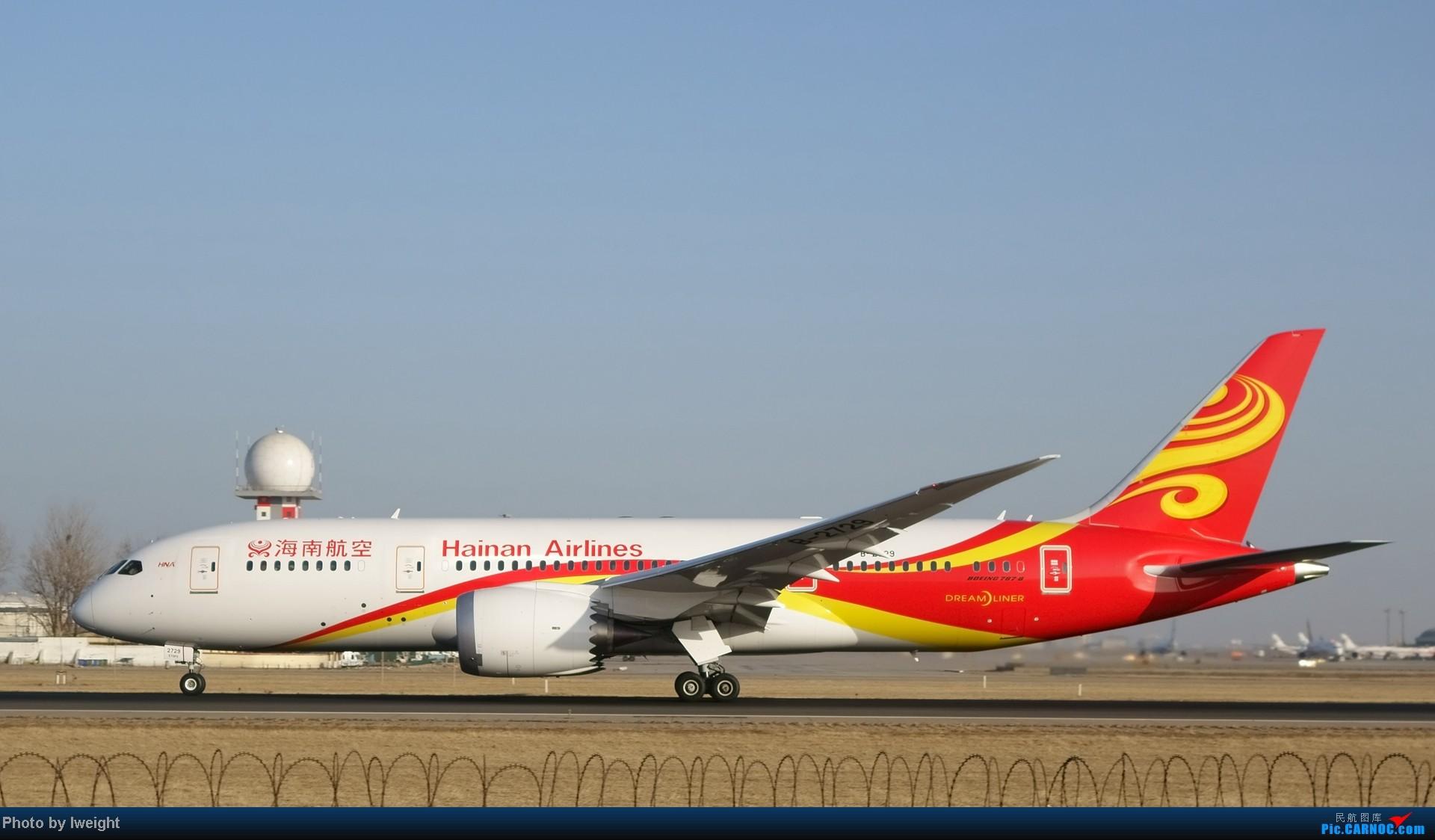 Re:[原创]2014的第一天 BOEING 787-8 B-2729 中国北京首都机场