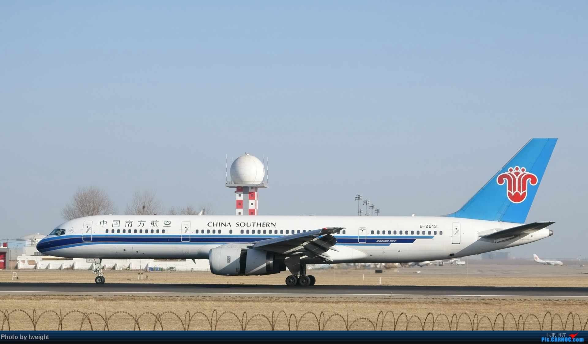Re:[原创]2014的第一天 BOEING 757-200 B-2813 中国北京首都机场