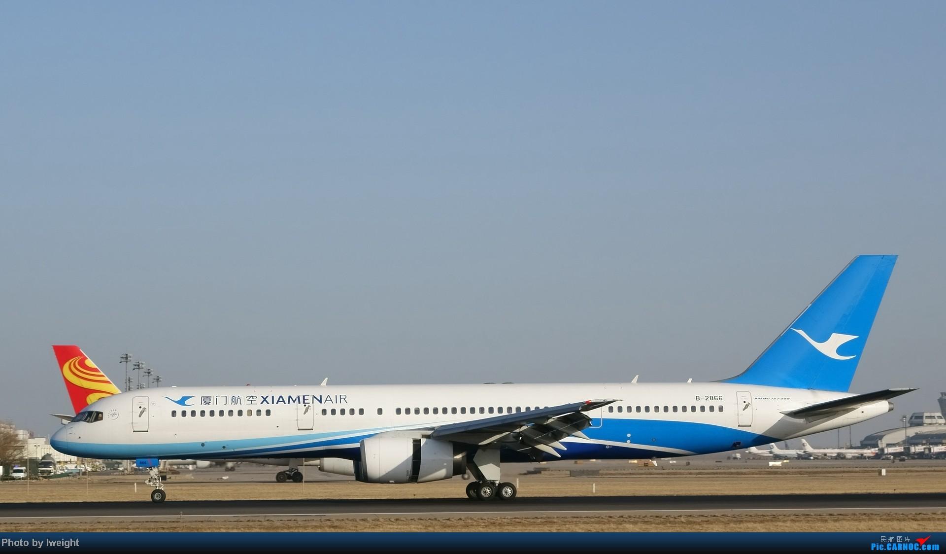 Re:[原创]2014的第一天 BOEING 757-200 B-2866 中国北京首都机场