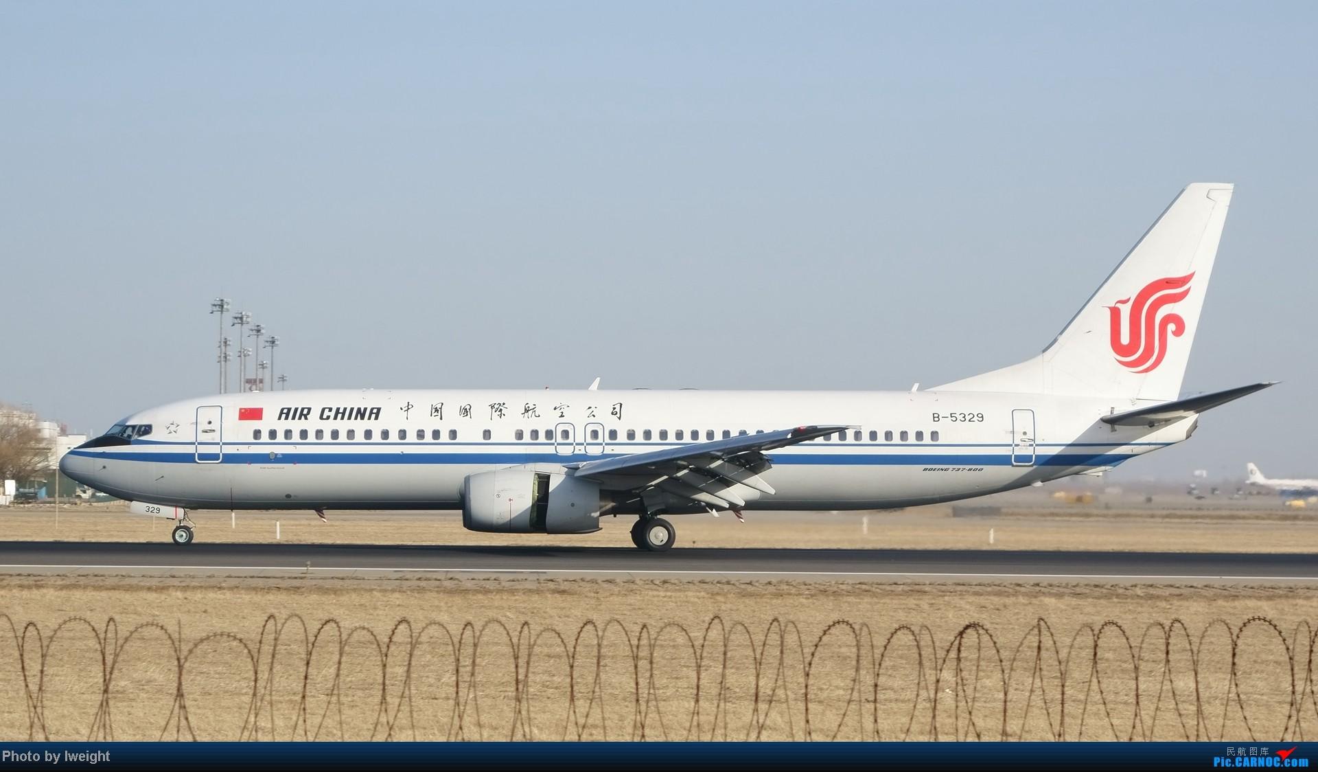 Re:[原创]2014的第一天 BOEING 737-800 B-5329 中国北京首都机场