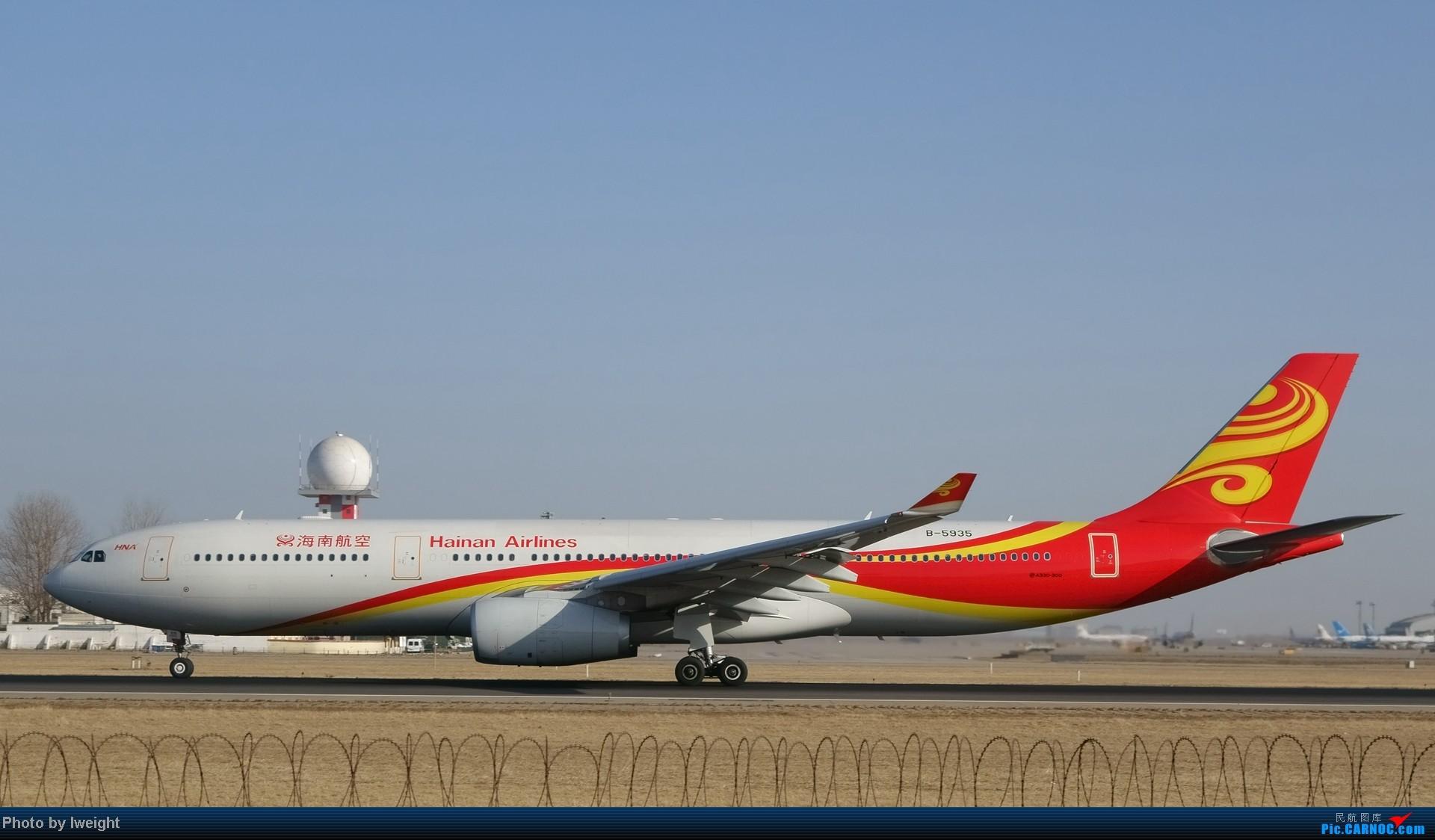 Re:[原创]2014的第一天 AIRBUS A330-300 B-5935 中国北京首都机场