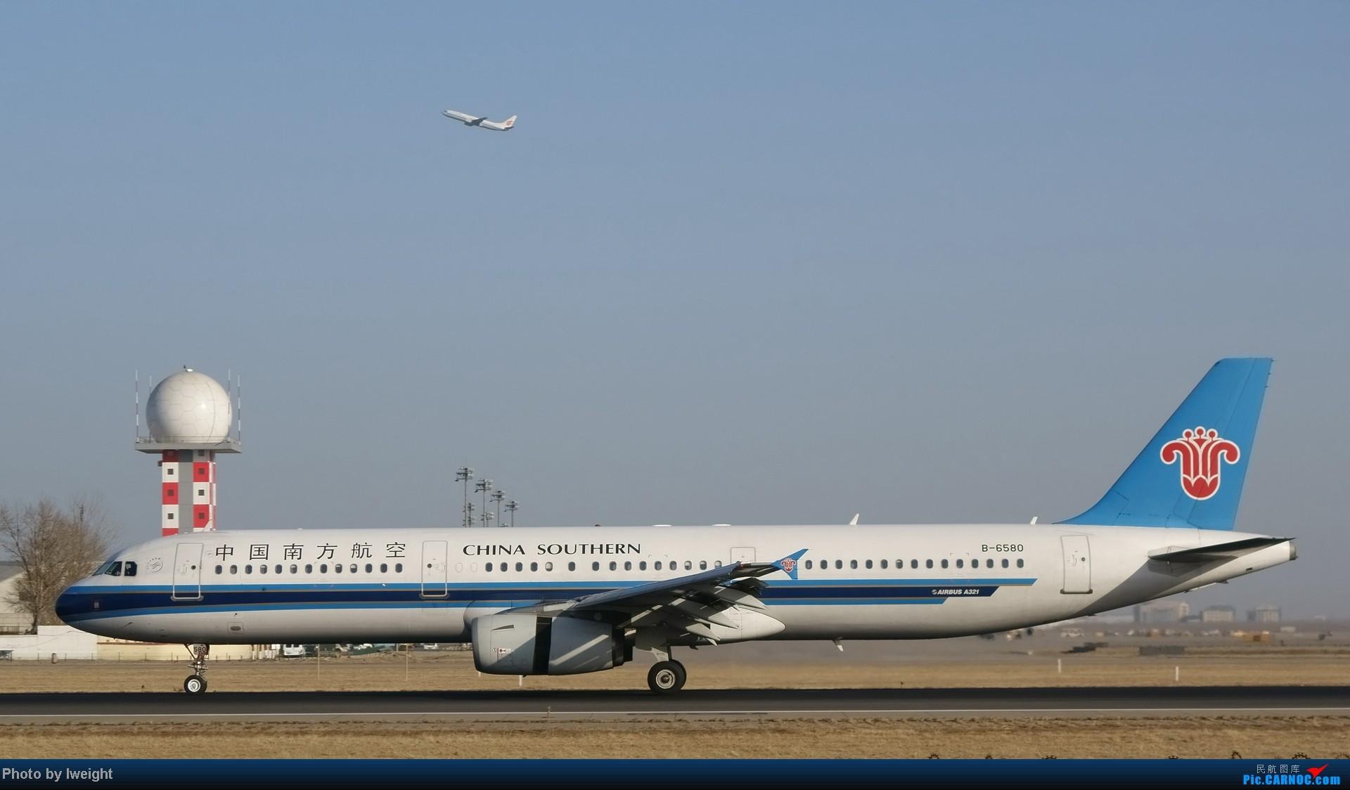 Re:[原创]2014的第一天 AIRBUS A321-200 B-6580 中国北京首都机场