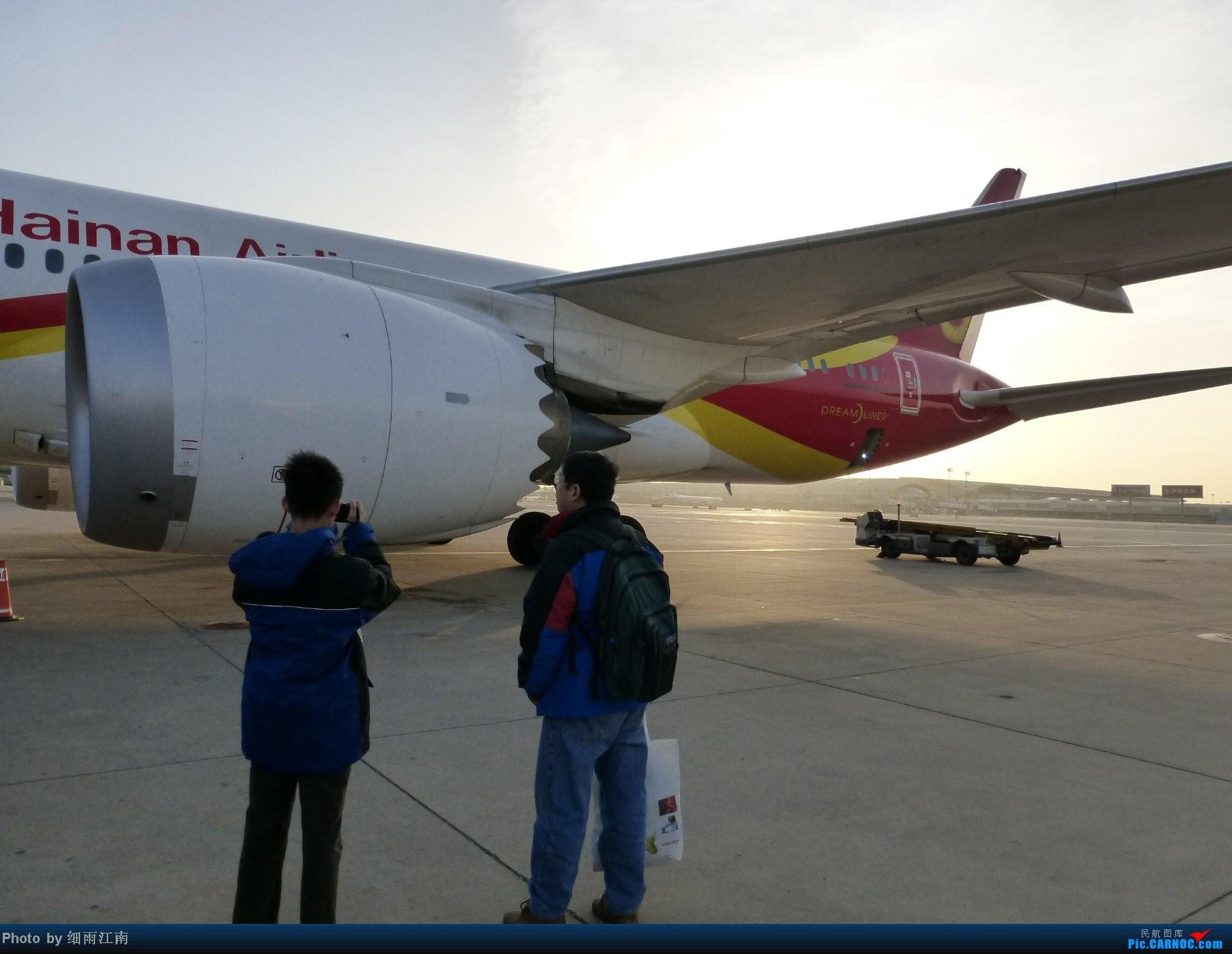 Re:2014年第一次飞行也是第一次坐787,北京飞虹桥 BOEING 787 B-2723 北京首都国际机场