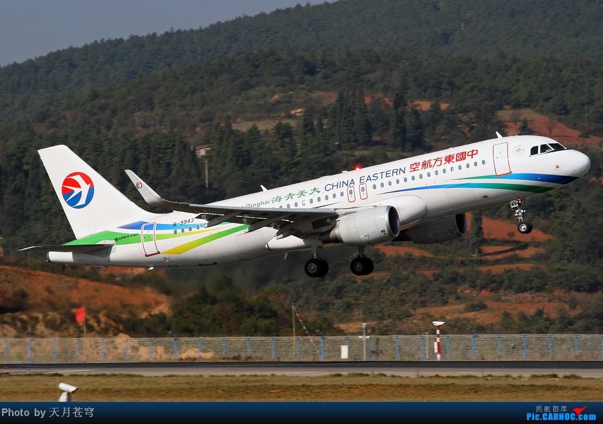 Re:[原创]【KMG】好天气不能拍飞机,鬼火绿啊鬼火绿 AIRBUS A320-200 B-9943 中国昆明长水机场