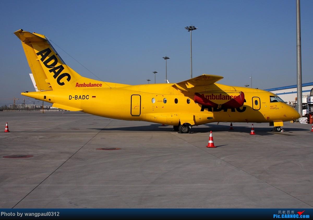 [原创]很黄!很黄!很黄! DORNIER DO-328 JET D-ABDC 北京首都国际机场