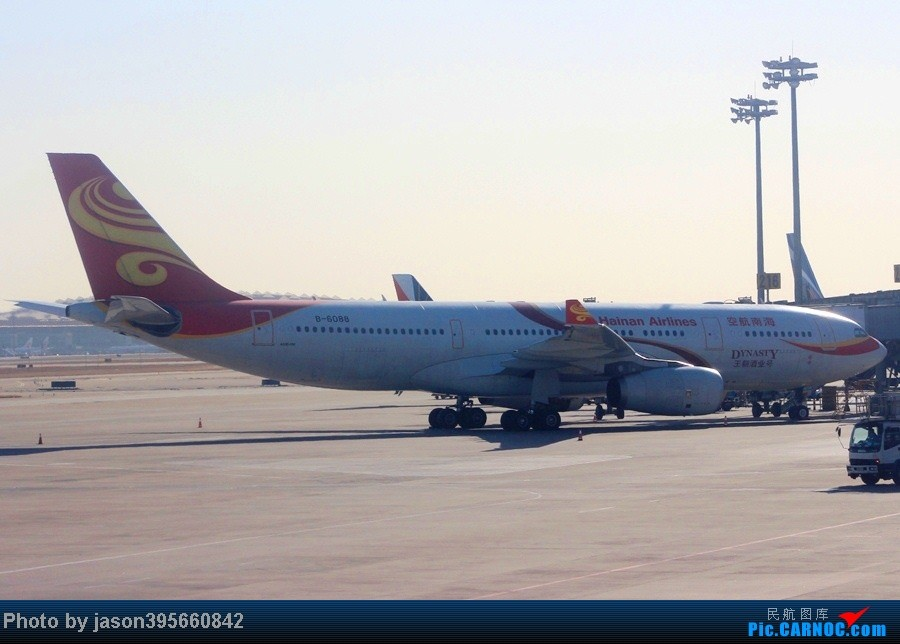 Re:[原创]菜航穗京线787初体验 CAN远机位捕获柬埔寨砖机 AIRBUS A330-200 B-6088 中国北京首都机场
