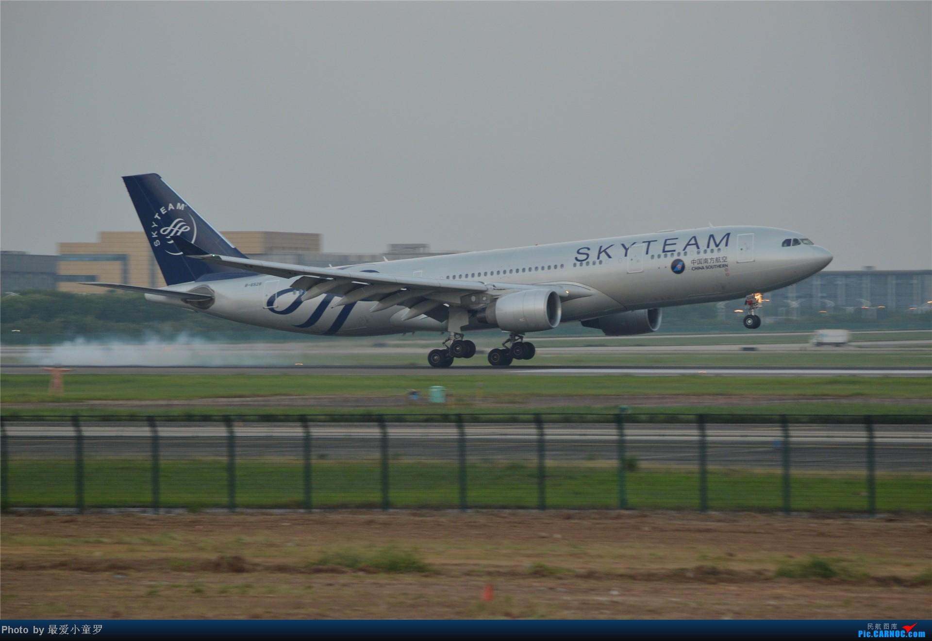 [原创]炒冷饭贴之13年10月2日CAN拍机杂图系列 AIRBUS A330-200 B-6528 中国广州白云机场