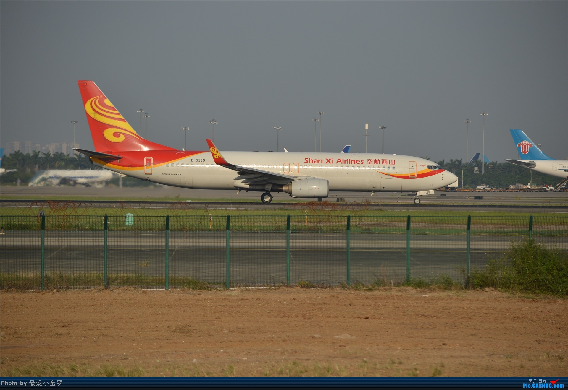 Re:[原创]炒冷饭贴之13年10月2日CAN拍机杂图系列 BOEING 737-800 B-5135 中国广州白云机场