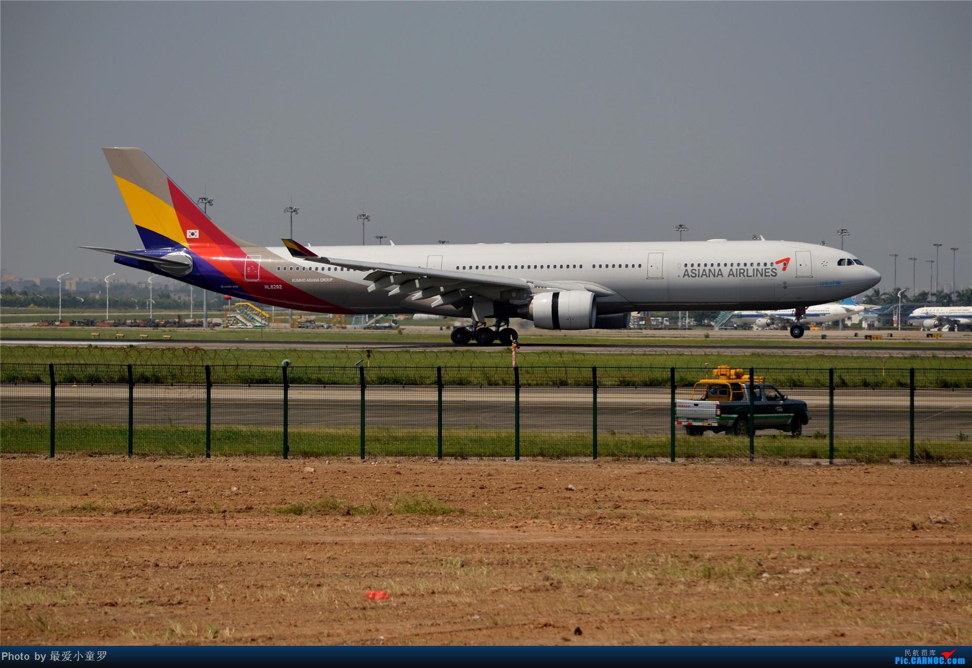 Re:[原创]炒冷饭贴之13年10月2日CAN拍机杂图系列 AIRBUS A330-300 HL8282 中国广州白云机场