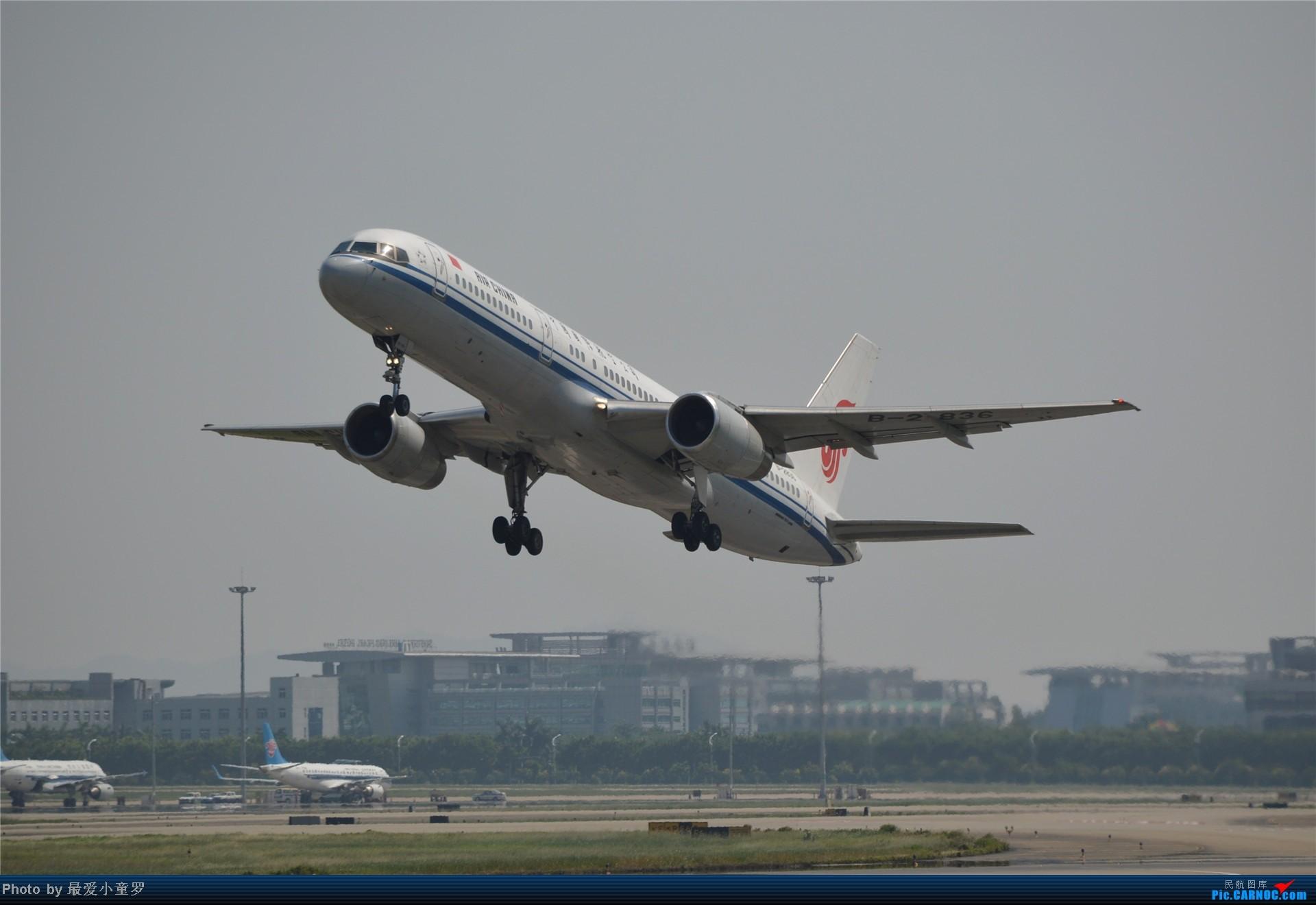 Re:[原创]炒冷饭贴之13年10月2日CAN拍机杂图系列 BOEING 757-200 B-2836 中国广州白云机场