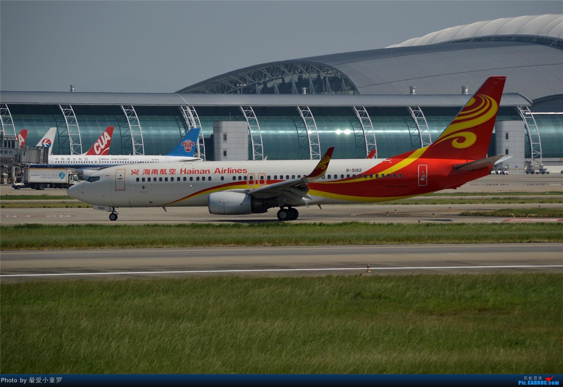 Re:[原创]炒冷饭贴之13年10月2日CAN拍机杂图系列 BOEING 737-800 B-5182 中国广州白云机场