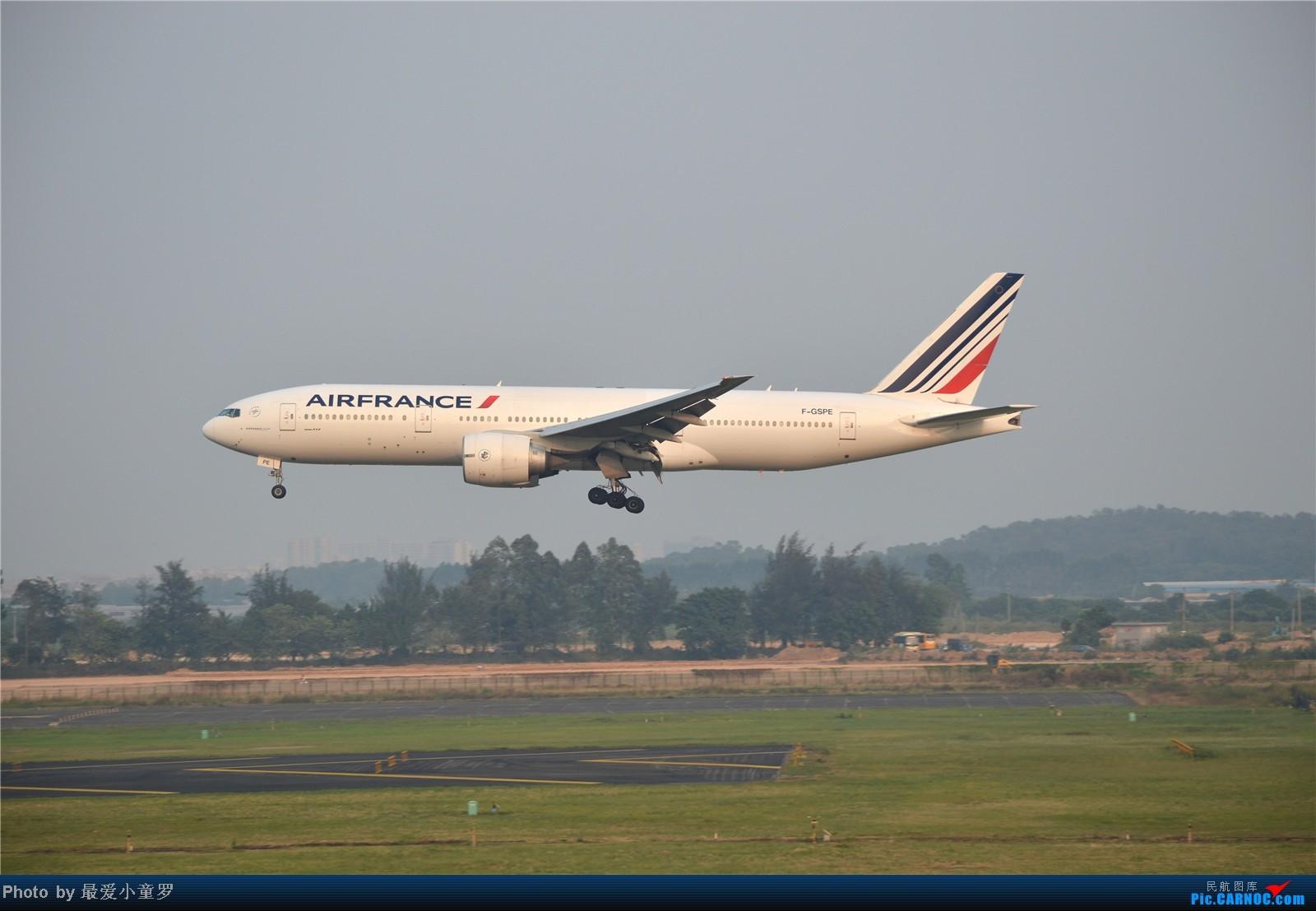 Re:[原创]炒冷饭系列2013年10月4日CAN拍机,带消防塔角度 BOEING 777-200 F-GSPE 中国广州白云机场